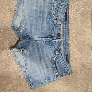 Citizens of Humanity Cut off Low Rise Shorts
